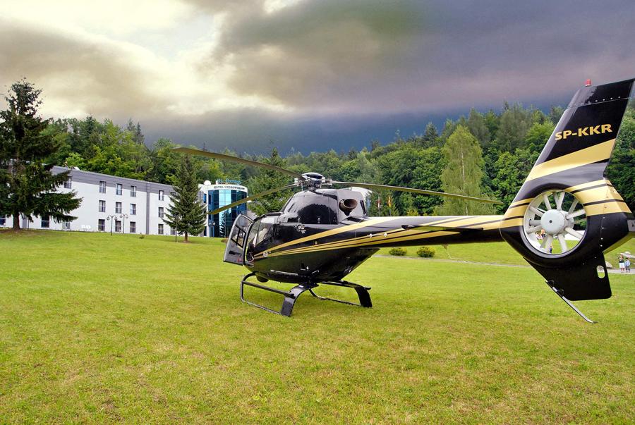 Hubschrauberplatz Kurhotel St. George
